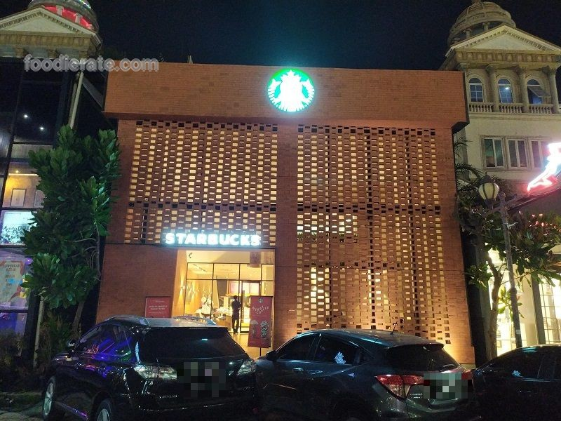 Lokasi Starbucks Coffee di Ruko Crown Golf