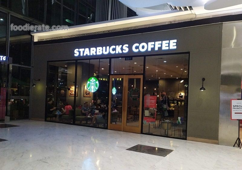 Lokasi Starbucks Coffee di St Moritz Mall (Lippo Mall Puri)