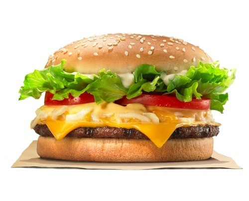 Foto Menu Burger King