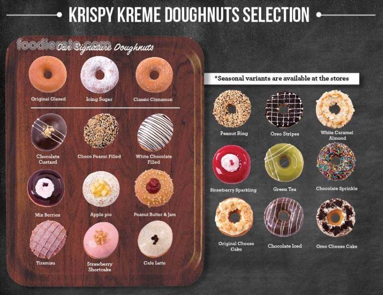 Daftar Harga Menu Krispy Kreme