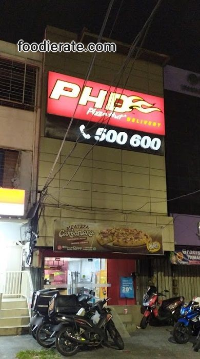 Lokasi Outlet Pizza Hut Delivery PHD di Green Garden
