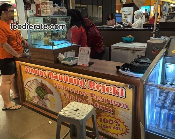 Lokasi Restoran Siomay Rejeki di Baywalk Mall