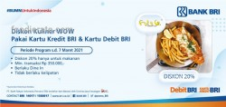 Promo Fish & Co. Kartu BRI