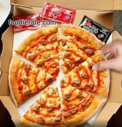 Menu Sambal Beef Domino's Pizza