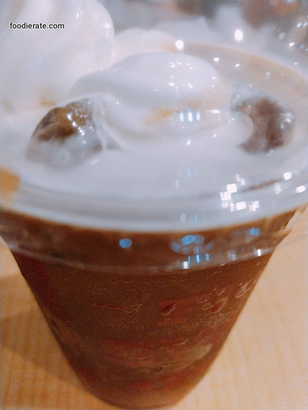 Minuman Mocha Float KFC